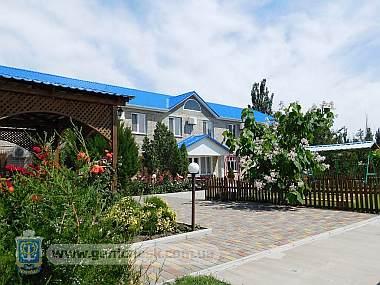 Курортно-гостиничный комплекс Рио-Арабат на Арабатской стрелке в Генгорке на Азовском море
