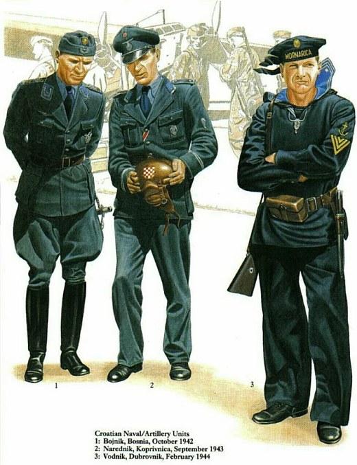 Униформа вооруженных сил Хорватии во время Второй мировой войны